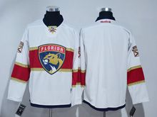 Mens Reebok Nhl Florida Panthers Blank White 2016 Jersey