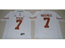 Mens Ncaa Nfl Texas Longhorns #7 Shane Buechele White Limited Jersey