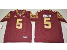 Youth Ncaa Nfl Florida State Seminoles #5 Jameis Winston Red Jersey