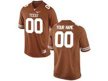Mens Ncaa Nfl Texas Longhorns (custom Made) Orange Limited Jersey
