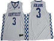 Mens Ncaa Nba Kentucky Wildcats #3 Edrice Adebayo White College Basketball Jersey