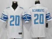 Mens Nfl Detroit Lions #20 Barry Sanders 2017 Vapor Untouchable Limited White Jersey