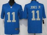 Mens Nfl Detroit Lions #11 Marvin Jones 2017 Throwback Vapor Untouchable Limited Blue Jersey