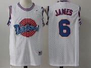 Mens Nba Space Jam Tune Squad #6 James White Jersey