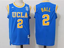 Mens Ncaa Nba Ucla Bruins #2 Lonzo Ball Blue College Basketball Authentic Jersey