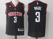 Mens Nba Houston Rockets #3 Chris Paul Black Alternate Jersey