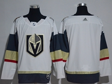 Mens Adidas Vegas Golden Knights Blank White Hockey Jersey