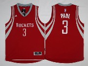Mens Nba Houston Rockets #3 Chris Paul Red Road Jersey