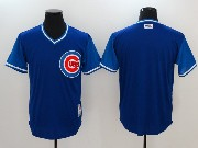 Mens Mlb Chicago Cubs Blank Blue 2017 Players Weekend Jersey