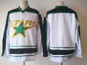 Mens Nhl Dallas Stars Blank White Stars Throwbacks Ccm Jersey
