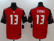 Mens Nfl Tampa Bay Buccaneers #13 Mike Evans Red Vapor Untouchable Limited Jersey