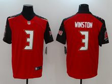 Mens Women Nfl Tampa Bay Buccaneers #3 Jameis Winston Red Vapor Untouchable Limited Jersey