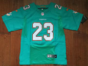 Mens Nfl Miami Dolphins #23 Jay Ajayi Green Elite Jersey