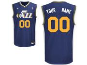 Mens Nba Utah Jazz Custom Made Dark Blue Icon Edition Adidas Jersey