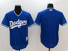 Mens Mlb Los Angeles Dodgers Custom Made Blue 2017 Players Weekend Authentic Jersey