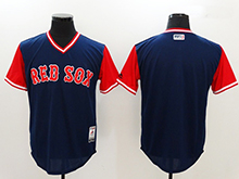 Mens Mlb Boston Red Sox Custom Made Blue 2017 Players Weekend Authentic Jersey