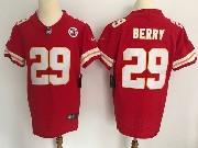 Mens Nfl Kansas City Chiefs #29 Berry Red Vapor Untouchable Elite Jersey