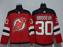Mens Nhl New Jersey Devils #30 Martin Brodeur Red Adidas Jersey