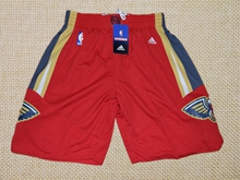 Mens Nba New Orleans Pelicans Red Shorts