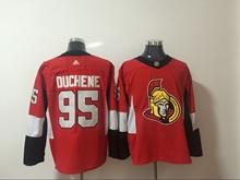 Mens Nhl Ottawa Senators #95 Duchene Red Adidas Jersey