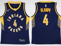 Mens Nba Indiana Pacers #4 Victor Oladipo Blue Swingman Nike Jersey