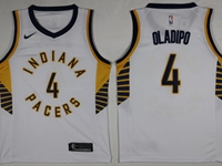 Mens Nba Indiana Pacers #4 Victor Oladipo White Swingman Nike Jersey