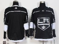 Mens Nhl Los Angeles Kings Blank Black Adidas Jersey
