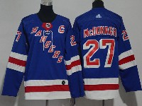 Youth Nhl New York Rangers #27 Ryan Mcdonagh Blue Adidas Jersey