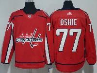 Mens Nhl Washington Capitals #77 T. J. Oshie Red Adidas Jersey