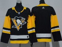 Youth Nhl Pittsburgh Penguins Blank Black Adidas Jersey