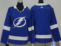 Mens Women Youth Nhl Tampa Bay Lightning Blank Blue Adidas Jersey