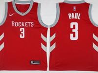 Mens 2017-18 Season Nba Houston Rockets #3 Chris Paul Red Nike Swingman Jersey
