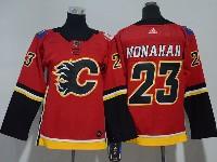 Youth Nhl Calgary Flames #23 Sean Monahan Red Adidas Jersey