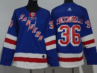 Youth Nhl New York Rangers #36 Mats Zuccarello Blue Adidas Jersey
