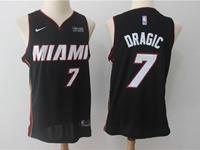 Mens Nba Miami Heat #7 Goran Dragic Black Nike Player Jersey