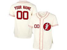 Mens Womens Youth Mlb Washington Nationals Custom Made Cream Cool Base Jersey