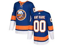 Mens Nhl New York Islanders Custom Made Blue Home Adidas Jersey