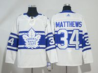 Mens Nhl Toronto Maple Leafs #34 Auston Matthews White Breakaway Player Adidas Jersey