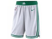 Mens 2017-18 Season Nba Boston Celtics White Nike Shorts
