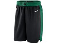New Mens 2017-18 Season Nba Boston Celtics Black Nike Shorts