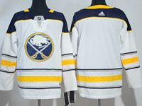 Mens Nhl Buffalo Sabres Blank White Away Breakaway Adidas Jersey