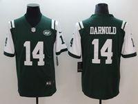 Mens New York Jets #14 Sam Darnold Green Vapor Untouchable Limited Jersey