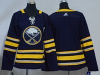 Women Youth Nhl Buffalo Sabres Blank Blue Home Breakaway Adidas Jersey