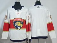 Mens Nhl Florida Panthers Blank White Adidas Jersey