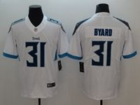 Mens New Nfl Tennessee Titans #31 Kevin Byard White Vapor Untouchable Limited Player Jersey