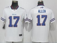 Women Nfl Buffalo Bills #17 Josh Allen White Vapor Untouchable Elite Player Jersey
