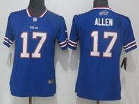 Women Nfl Buffalo Bills #17 Josh Allen Blue Vapor Untouchable Elite Player Jersey