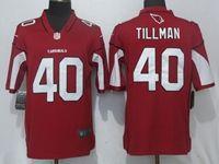 Mens Nfl Arizona Cardinals #40 Pat Tillman Red Vapor Untouchable Limited Player Nike Jersey