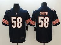 Mens Nfl Chicago Bears #58 Roquan Smith Blue Vapor Untouchable Limited Player Jersey