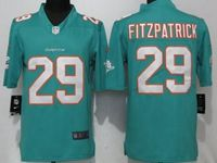 Mens Miami Dolphins #29 Minkah Fitzpatrick Green Vapor Untouchable Limited Player Jersey